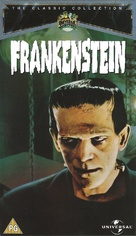Frankenstein - British VHS movie cover (xs thumbnail)