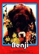 Benji - French Movie Poster (xs thumbnail)