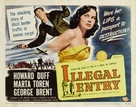 Illegal Entry - Movie Poster (xs thumbnail)