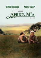 Out of Africa - Argentinian Movie Poster (xs thumbnail)