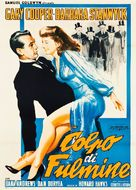 Ball of Fire - Italian Movie Poster (xs thumbnail)