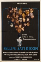 Fellini - Satyricon - Argentinian Movie Poster (xs thumbnail)