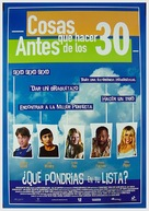 Things to Do Before You're 30 - Spanish poster (xs thumbnail)