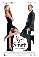 Mr. & Mrs. Smith - Turkish Movie Poster (xs thumbnail)
