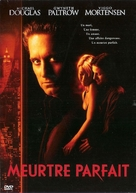 A Perfect Murder - French DVD movie cover (xs thumbnail)