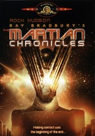 """""""The Martian Chronicles"""" - DVD movie cover (xs thumbnail)"""