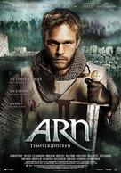 Arn - Tempelriddaren - Norwegian Movie Poster (xs thumbnail)