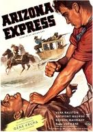 Gunfire at Indian Gap - German Movie Poster (xs thumbnail)
