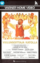 Fiddler on the Roof - Finnish Movie Cover (xs thumbnail)