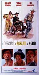 Il bianco, il giallo, il nero - Italian Movie Poster (xs thumbnail)