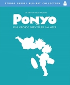 Gake no ue no Ponyo - German Blu-Ray cover (xs thumbnail)