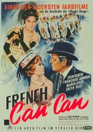 French Cancan - German Movie Poster (xs thumbnail)