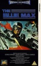 The Blue Max - British VHS movie cover (xs thumbnail)