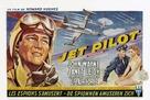 Jet Pilot - Belgian Movie Poster (xs thumbnail)