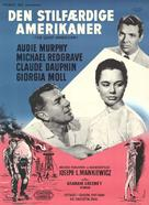 The Quiet American - Danish Movie Poster (xs thumbnail)
