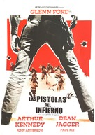 Day of the Evil Gun - Spanish Movie Poster (xs thumbnail)