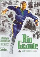 Rio Grande - German Movie Poster (xs thumbnail)