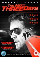 The Next Three Days - British DVD cover (xs thumbnail)