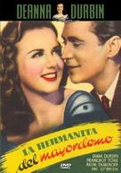 His Butler's Sister - Spanish DVD cover (xs thumbnail)