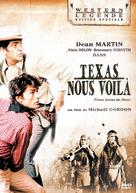 Texas Across the River - French DVD cover (xs thumbnail)