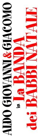 La banda dei babbi natale - Italian Logo (xs thumbnail)