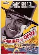 Fighting Caravans - Spanish Movie Poster (xs thumbnail)
