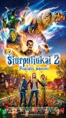 Goosebumps 2: Haunted Halloween - Lithuanian Movie Poster (xs thumbnail)