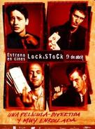 Lock Stock And Two Smoking Barrels - Spanish DVD movie cover (xs thumbnail)