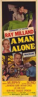 A Man Alone - Movie Poster (xs thumbnail)