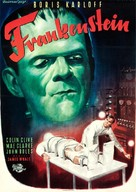 Frankenstein - German Movie Poster (xs thumbnail)
