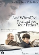 And When Did You Last See Your Father? - Dutch DVD movie cover (xs thumbnail)