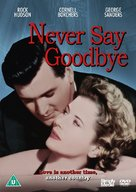 Never Say Goodbye - British DVD movie cover (xs thumbnail)