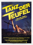 The Evil Dead - German Movie Poster (xs thumbnail)