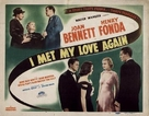 I Met My Love Again - Movie Poster (xs thumbnail)