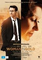 Woman in Gold - Australian Movie Poster (xs thumbnail)