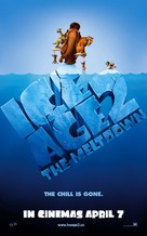 Ice Age: The Meltdown - British Movie Poster (xs thumbnail)