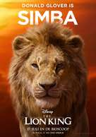 The Lion King - Dutch Movie Poster (xs thumbnail)