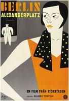 Berlin - Alexanderplatz - Swedish Movie Poster (xs thumbnail)