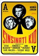 The Cincinnati Kid - Yugoslav Movie Poster (xs thumbnail)