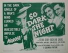 So Dark the Night - Movie Poster (xs thumbnail)