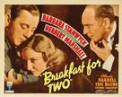Breakfast for Two - Theatrical poster (xs thumbnail)