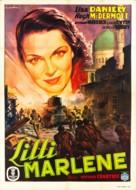 Lilli Marlene - Italian Movie Poster (xs thumbnail)