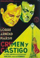 Crime and Punishment - Spanish Movie Poster (xs thumbnail)