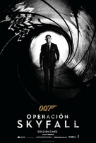 Skyfall - Mexican Movie Poster (xs thumbnail)