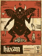 Häxan - Danish Movie Poster (xs thumbnail)