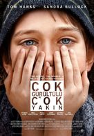 Extremely Loud & Incredibly Close - Turkish Movie Poster (xs thumbnail)