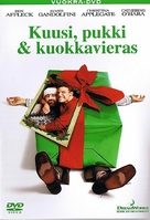 Surviving Christmas - Finnish DVD cover (xs thumbnail)