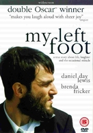 My Left Foot - British Movie Cover (xs thumbnail)
