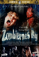 Paura nella città dei morti viventi - Danish Movie Poster (xs thumbnail)