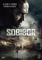 Escape from Sobibor - French DVD cover (xs thumbnail)